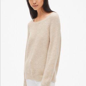 GAP waffle stitch sweater